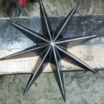 鉄製 星形